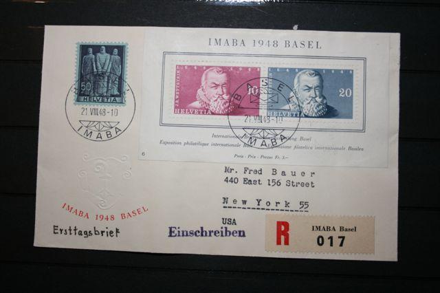Zwi 1948 Blok 13 op brief (1)